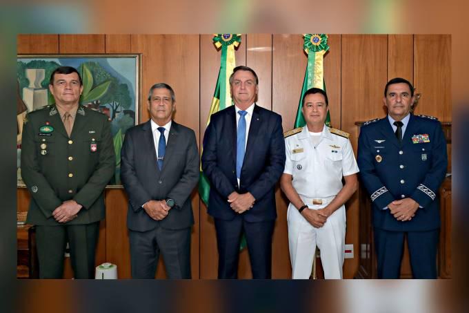 31/03/2021 Encontro com os novos comandantes das Forc¿as Armada