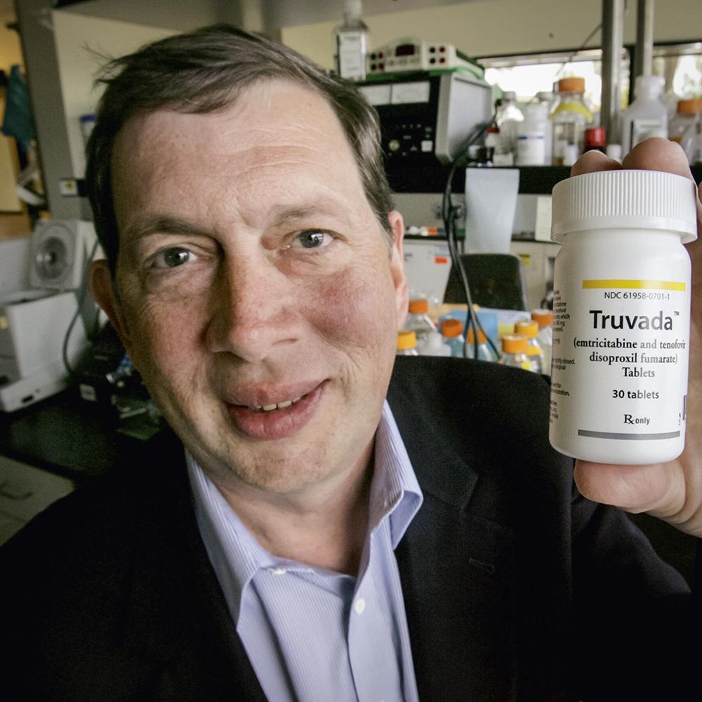 QUÍMICA -O cientista e empresário americano: aposta nos antirretrovirais -