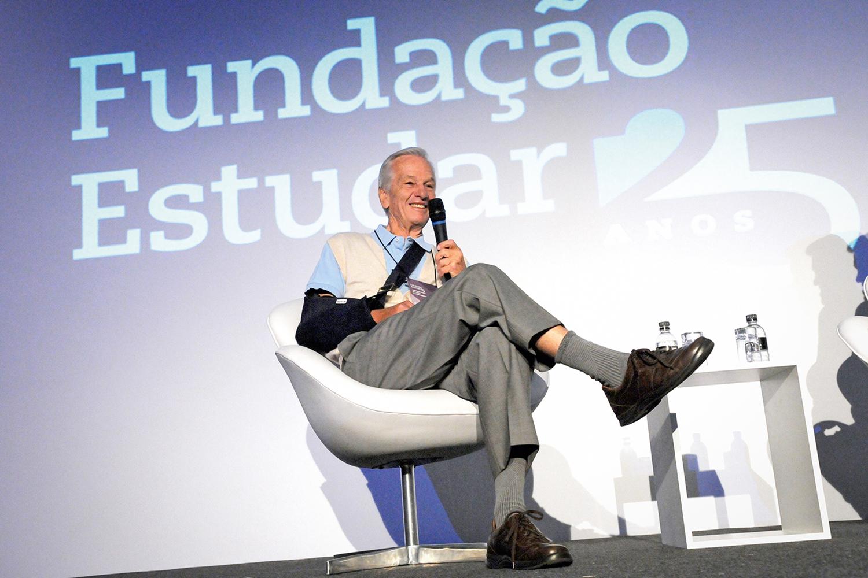 Jorge Paulo Lemann, controlador da Ambev, Heinz, Burger King e das Lojas Americanas, entre outras empresas -