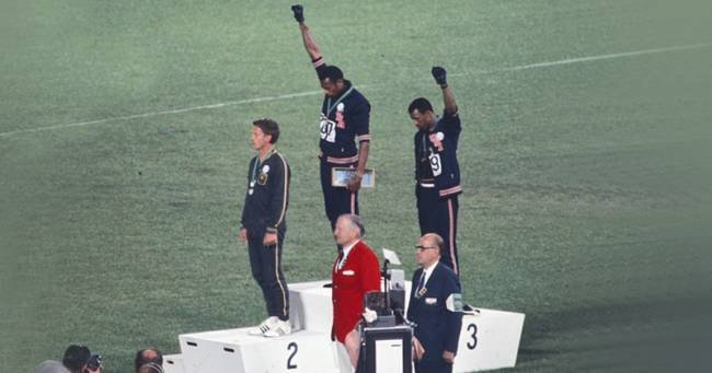 Peter Norman, Tommie Smith e John Carlos