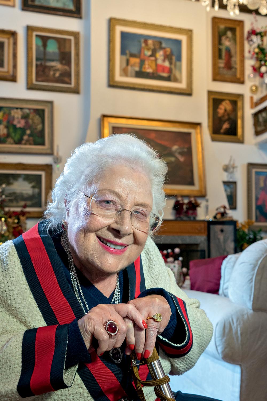 Lia Maria de Aguiar, herdeira do Bradesco e criadora da fundação que leva seu nome -
