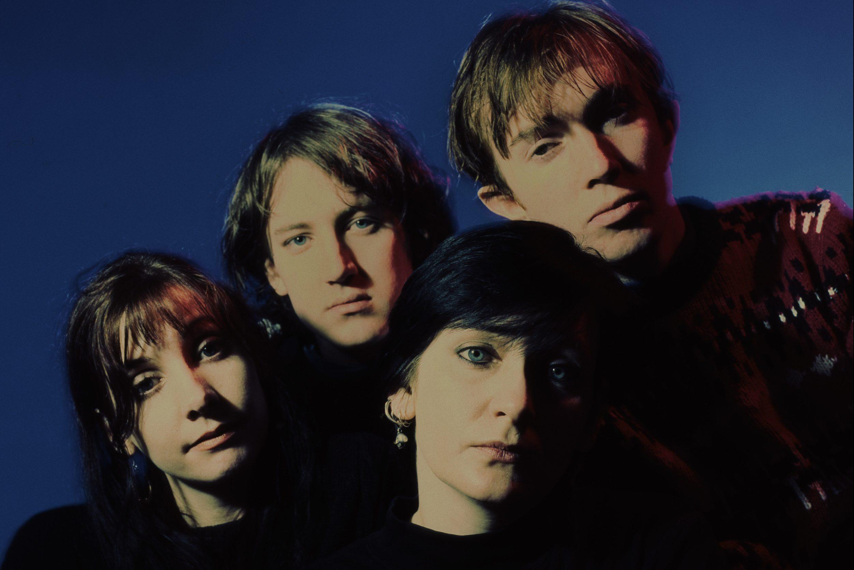 A banda My Bloody Valentine em 1988