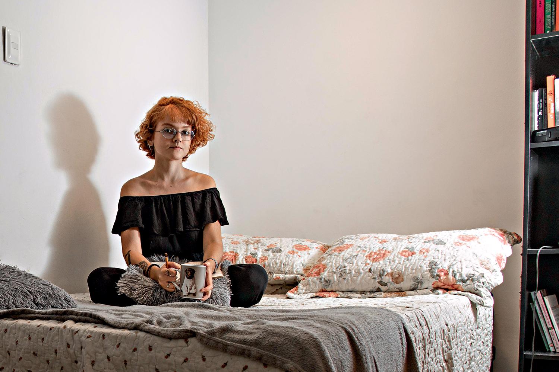 Júlia Grangeiro, 21 anos, estudante de arquitetura -