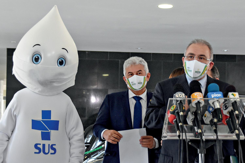 PRESSÃO -Queiroga: troca depois do agravamento de contaminação e mortes -