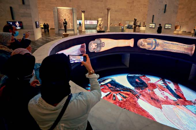National Museum of Egyptian Civilization reopens