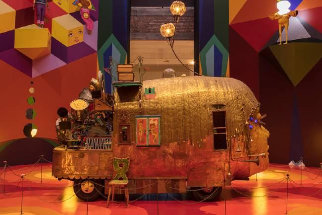 A exposição fez grande sucesso com o público e com a crítica em 2020.