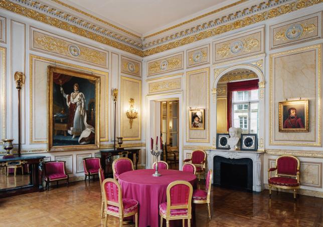 Interior do Palácio Vivienne, em Paris