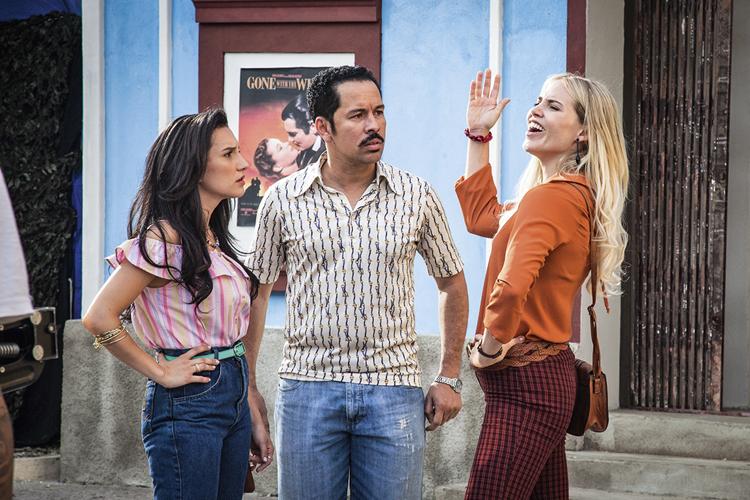 NA GLOBO -Cena da série Cine Holliúdy: a segunda temporada está a caminho -