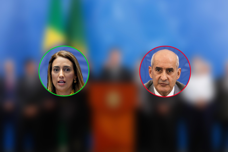 Flávia Arruda e Luiz Ramos -