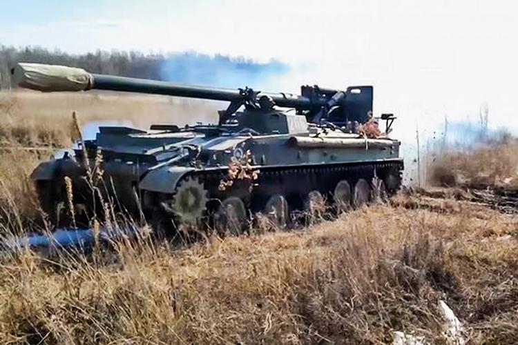 PRESSÃO -Tropas russas na fronteira com a Ucrânia: território em disputa -