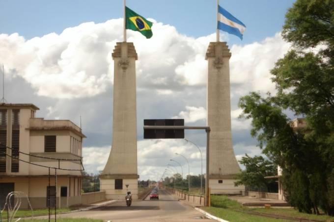 Fronteira Brasil Argentina