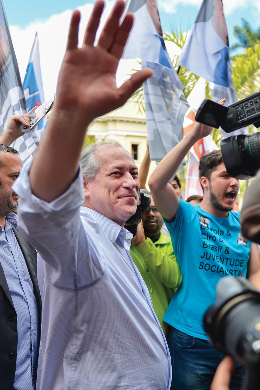 ACENOS -Ciro: conversas com DEM, PSDB, PSD e Cidadania, entre outros -