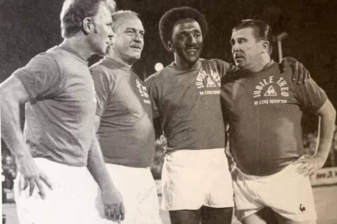 Kubala, Di Stéfano, Paulo Cezar Caju e Puskás
