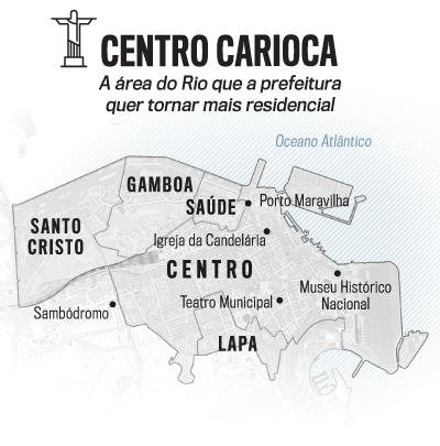 arte mapa Rio