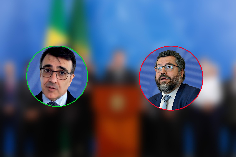 Carlos Alberto França e Ernesto Araújo -