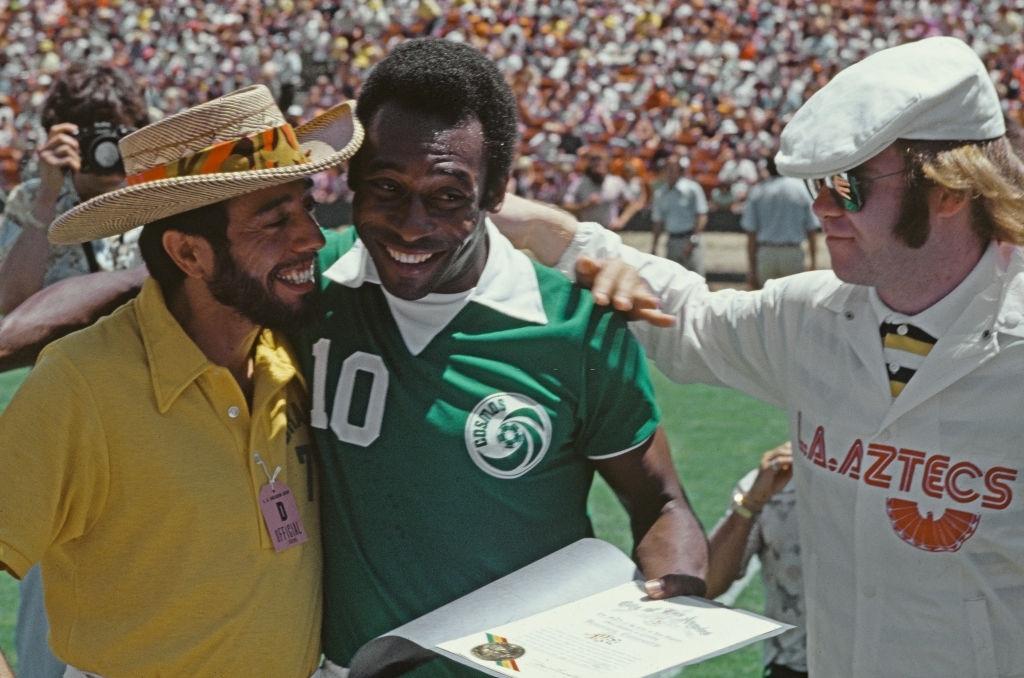 Sérgio Mendes, Pelé e Elton John