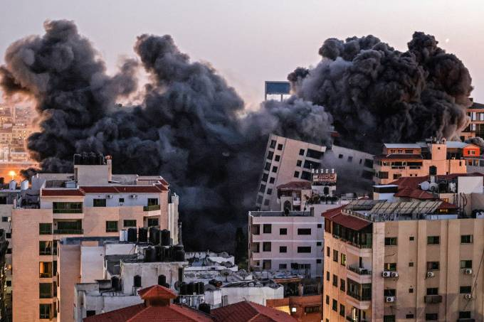 TOPSHOT-PALESTINIAN-ISRAEL-CONFLICT