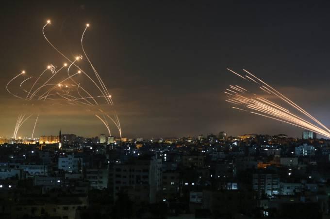 Foguetes – Hamas – Israel – Palestina – 13/05/2021 –