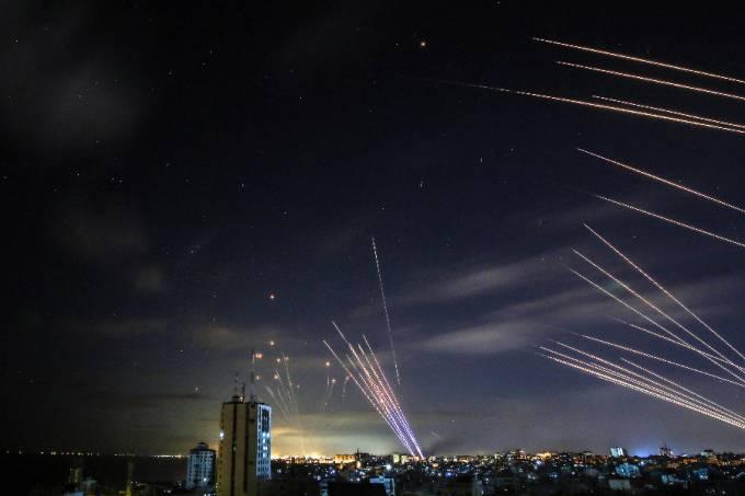 Conflito Israel e Palestina em Gaza – 16/05/2021 –