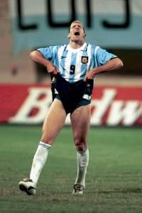 4 July 1999: COPA AMERICA PARAGUAY 99 argentinain