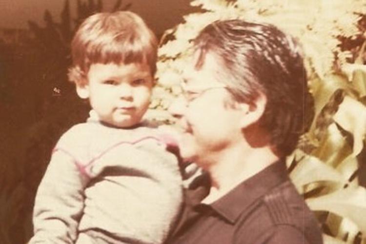 Bruno Covas com o seu avô, o ex-governador Mário Covas -
