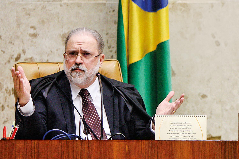 PROCESSO - Augusto Aras: acordo na PGR prevê o pagamento de uma multa de 230 milhões de reais -