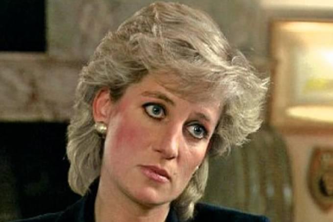 Princesa Diana durante entrevista à rede BBC –