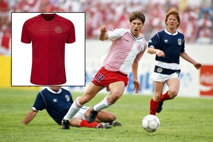 Denmark v Scotland FIFA World Cup 1986