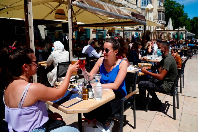 Opening of terraces, restaurants and bars in France