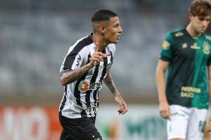 Guilherme Arana, destaque do Atlético-MG -