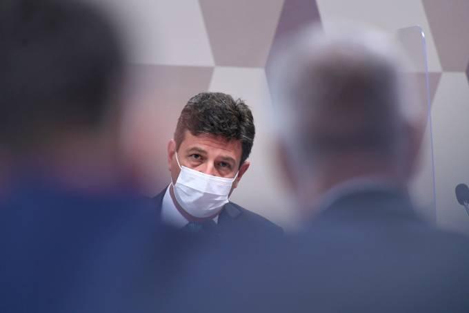 Luiz Henrique Mandetta depõe na CPI da Pandemia