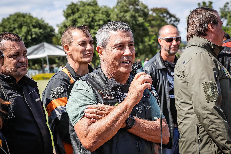 NA RESERVA -General Braga Netto: discurso em manifestação pró-governo -