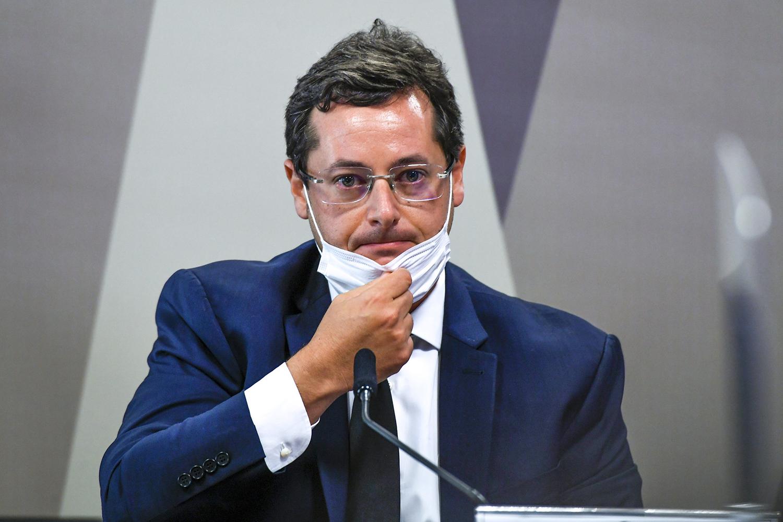 Áudio: Fabio Wajngarten viu 'incompetência' no Ministério de Saúde   VEJA
