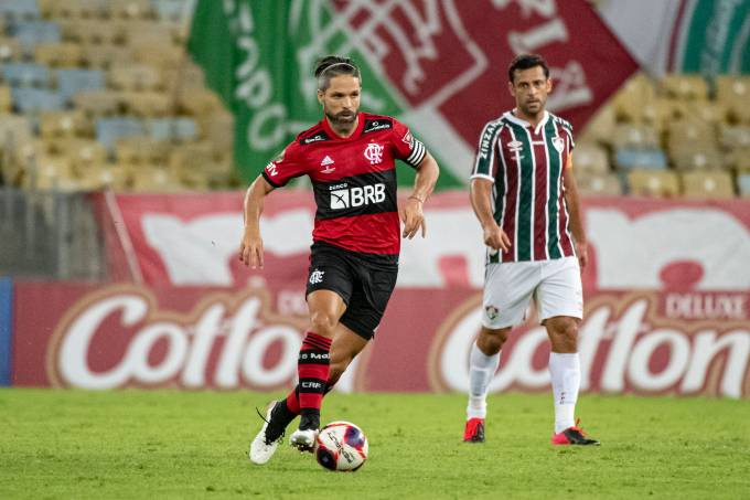 Flamengo X Fluminense – Primeiro jogo – 15-05-2021 – Foto – Alex