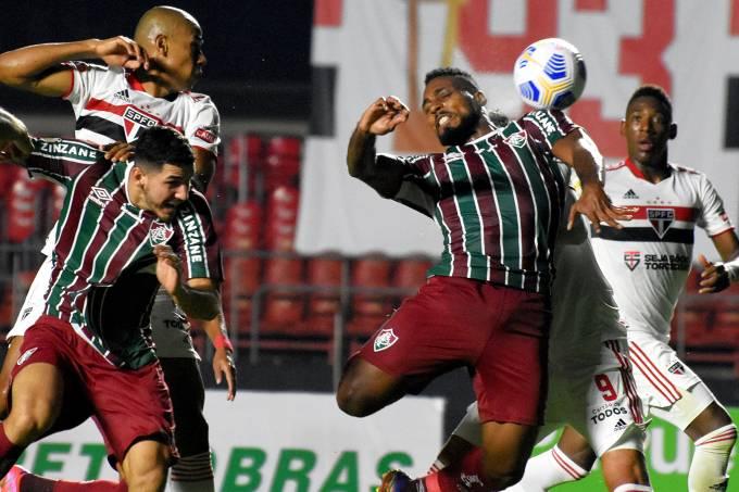Fluminense x São Paulo 29/05/2021