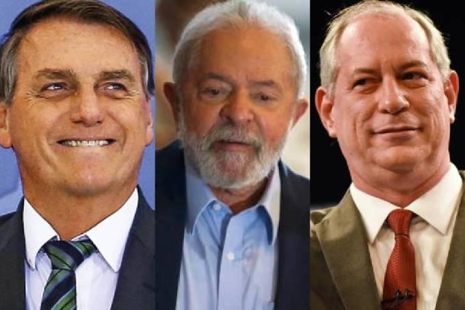 Bolsonaro Lula Ciro