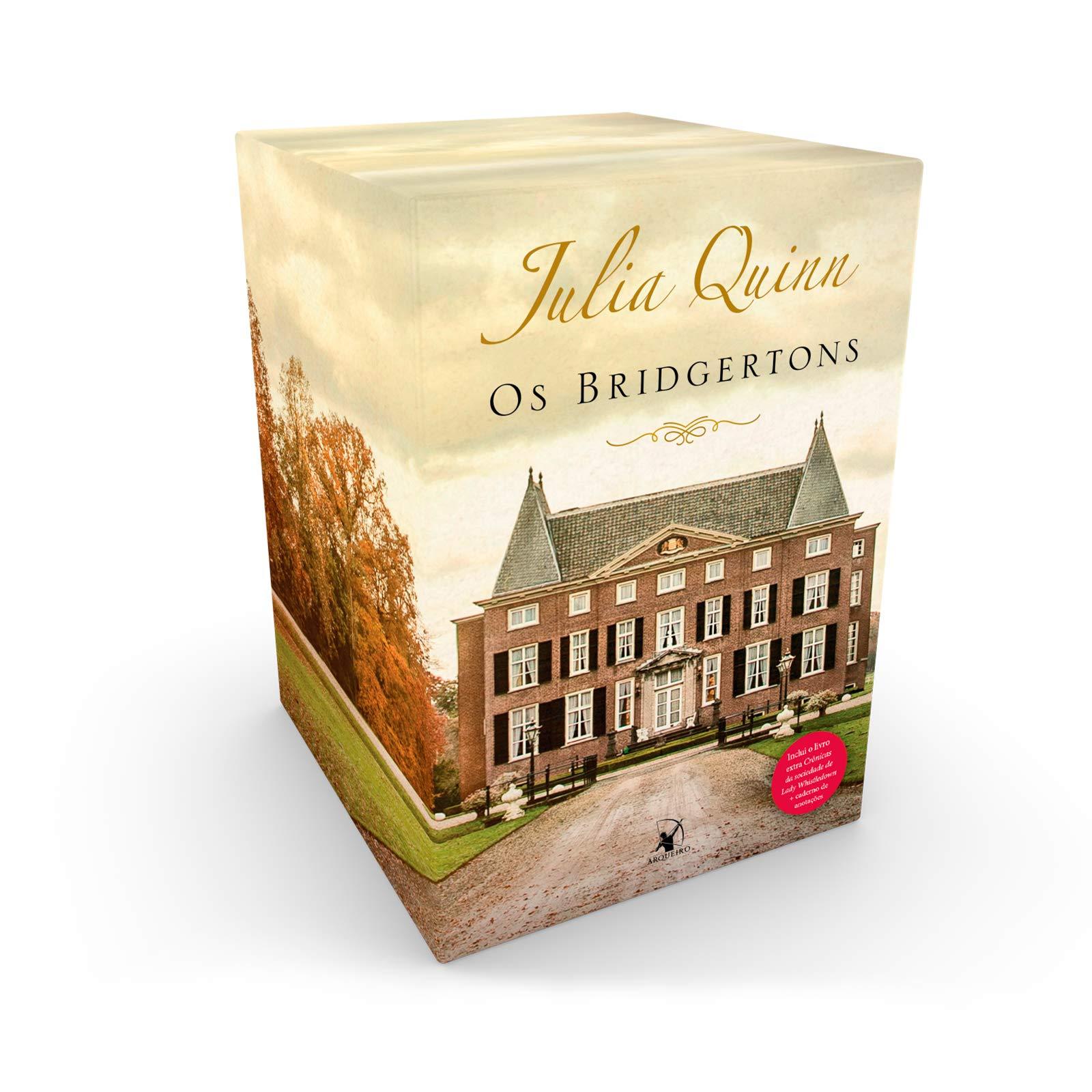 Box - Os Bridgertons e Crônicas da Sociedade de Lady Whistledown