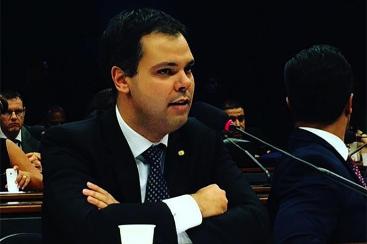 Bruno Covas como deputado federal, em 2016 -
