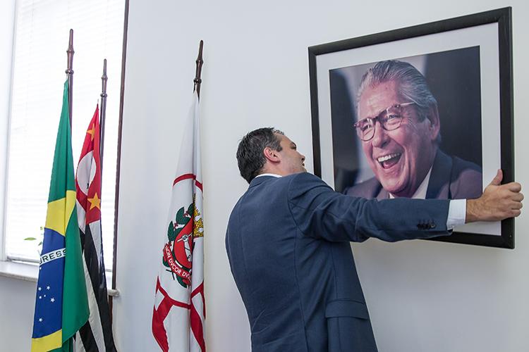 Bruno Covas, vice-prefeito de São Paulo pelo PSDB, em 2017 -