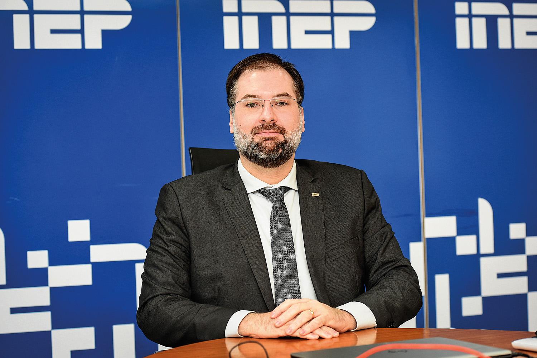 NOVATO -Dupas, o presidente do Inep: em fase de aprendizado sobre o exame -
