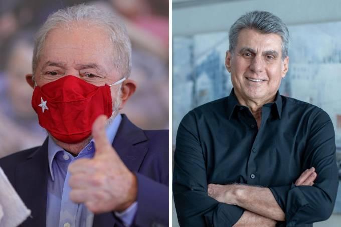 Lula e Romero Jucá