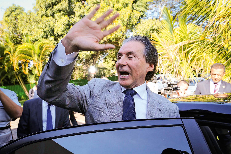 ANIMADO -Eunício Oliveira: o ex-presidente do Senado é um dos principais fiadores ao apoio a Lula dentro do MDB -