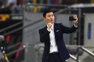 O presidente da Internazionale, Steven Zhang -