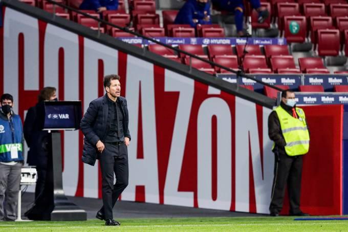 Diego Simeone, técnico do Atlético de Madri