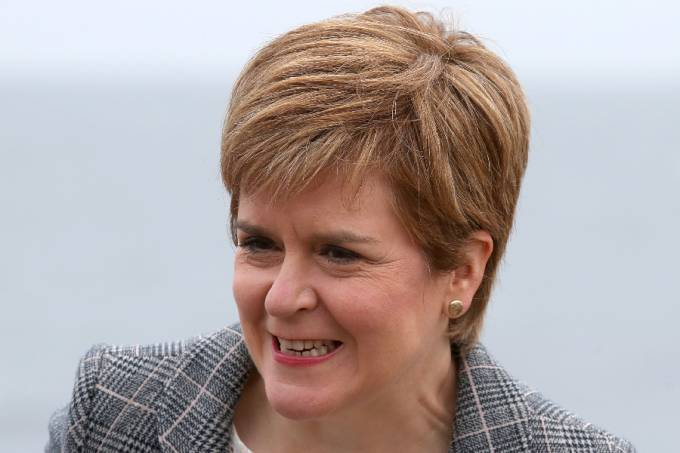First Minister and Leader of the SNP (Scottish National Party) Nicola Sturgeon