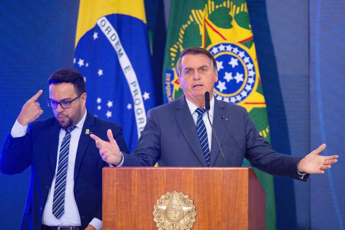 Jair Bolsonaro Opens Brazil Communications Week