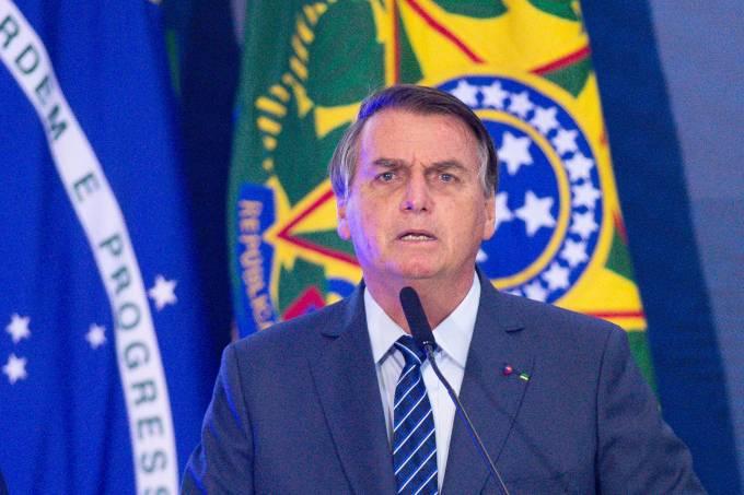 Jair Bolsonaro Opens Brazil Communications Week