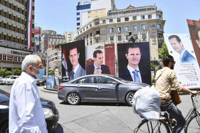 Presidential election in Syria