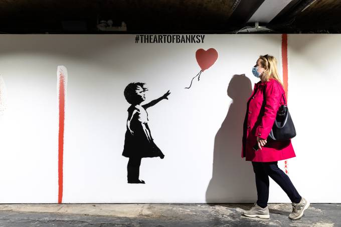 """""""The Art Of Banksy"""" – Press Preview"""
