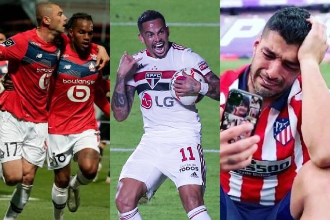 Lille, São Paulo e Atlético de Madri foram campeões no fim de semana